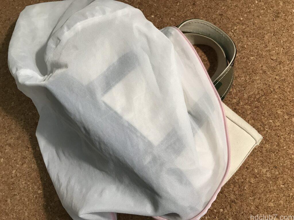 エルエルビーンのトートバッグミニと洗濯ネット