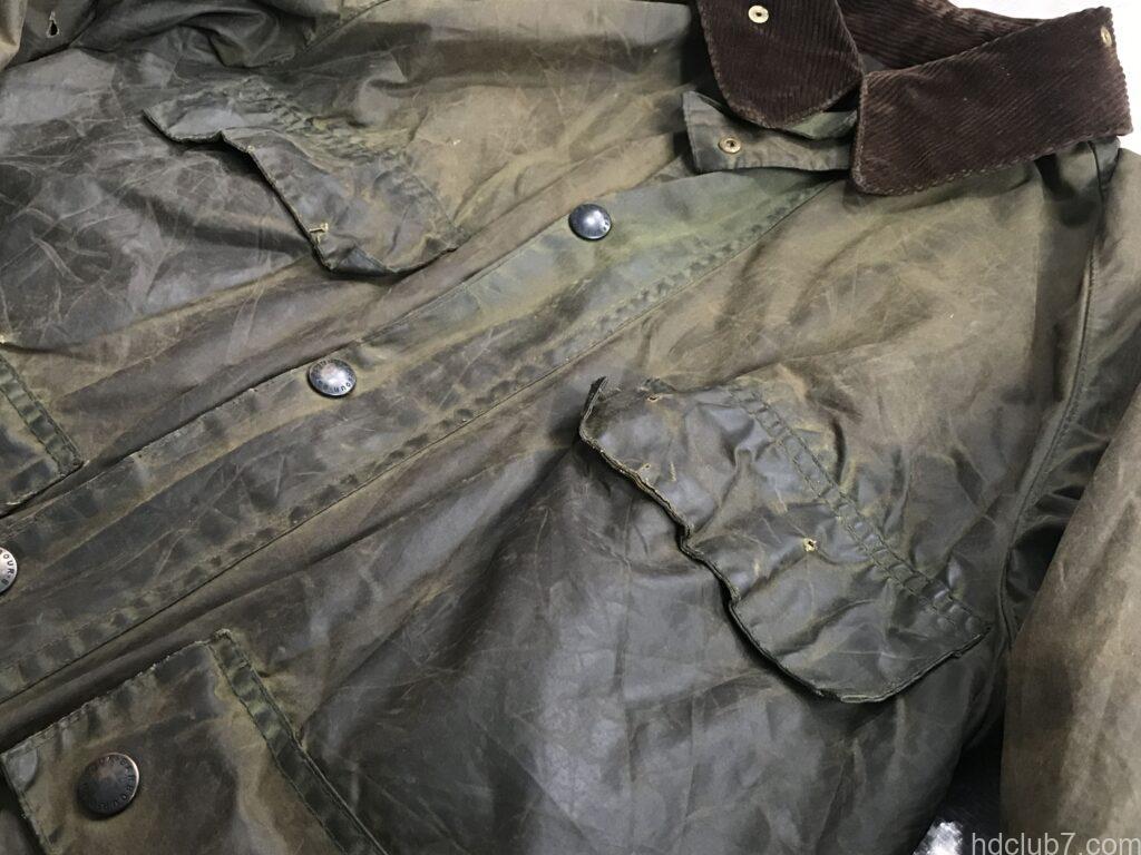 ビンテージビデイルの胸のフラップポケット
